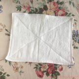 手作りした雑巾