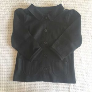 『おしゃれ着を手作りで。』よりショールカラー七分袖ブラウザー