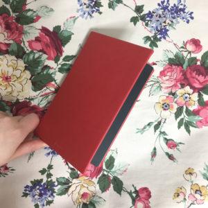 お気に入りの赤い手帳