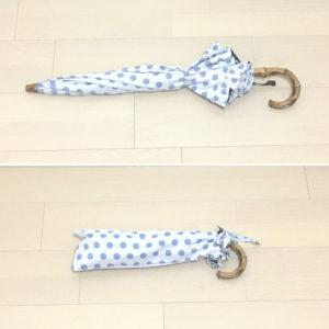 長傘、折りたたみ、二通りの使い方ができるサンバリア2段折りたたみ日傘