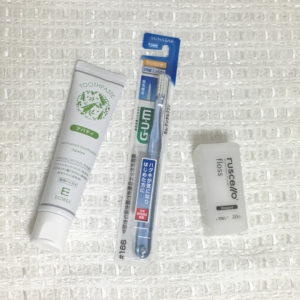 ミニマリストの歯磨きグッズ