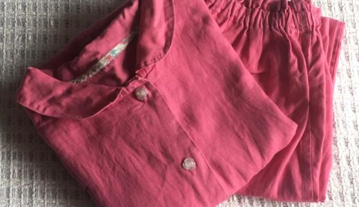 C&Sやさしいリネンが快適過ぎる!!たっぷり着込んだパジャマを公開!