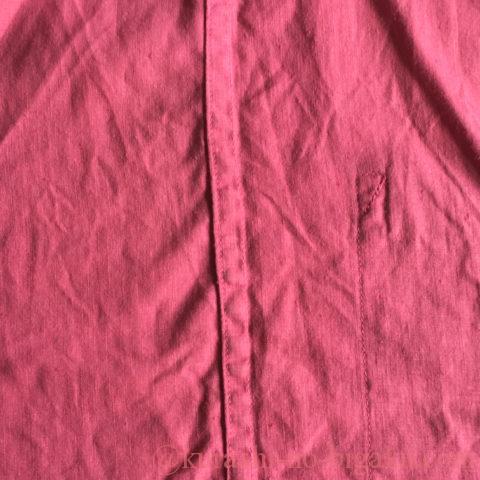 折り伏せ縫いで仕上げたパジャマ