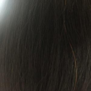 初めてのヘナの後の髪の染まり具合