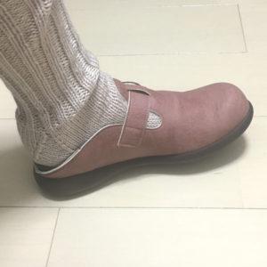大きめのサボも厚手靴下で丁度良い