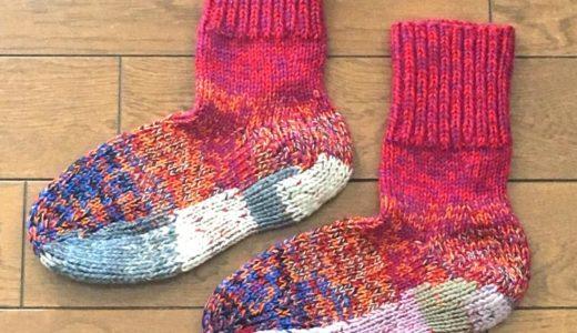 猪谷靴下を補修!暖かくて長持ちする最強の手編みソックス!