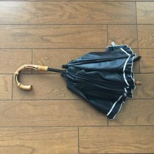 修理が失敗した日傘