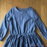 リラブロンマの大人服よりワンピースを作りました