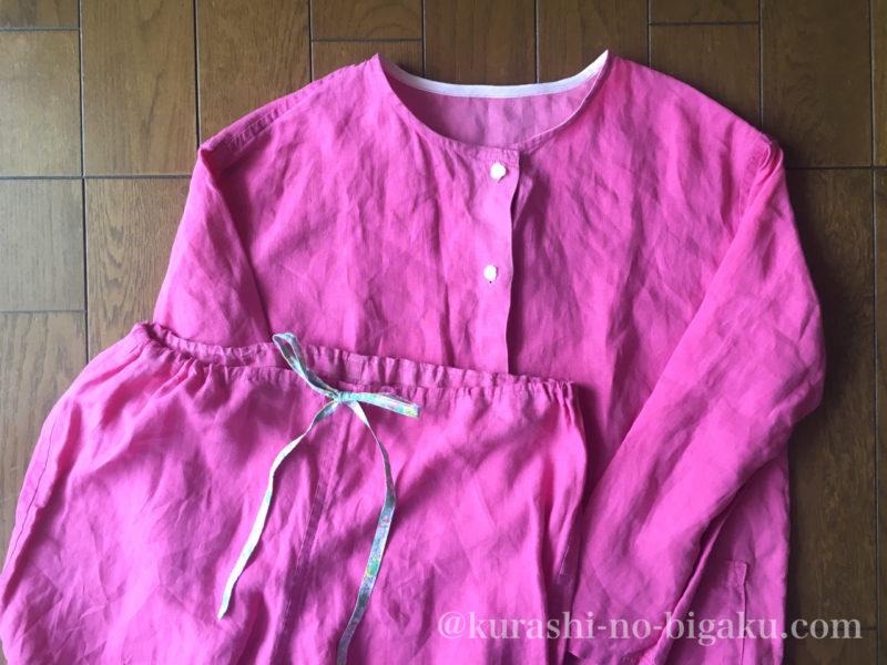 補修した手作りパジャマ